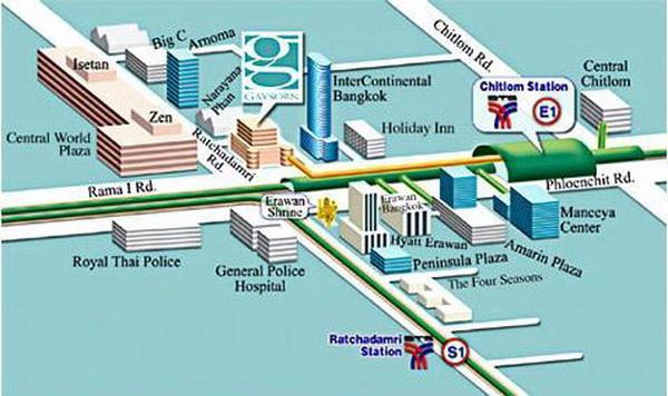 แผนที่บริษัท 4ไล้ฟ์(ประเทศไทย)